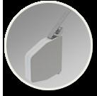 Ikona - ruční ovládání venkovní rolety - pásek